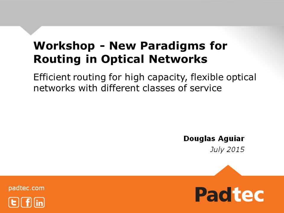 Efficient routing for high capacity, flexible optical networks with different classes of service